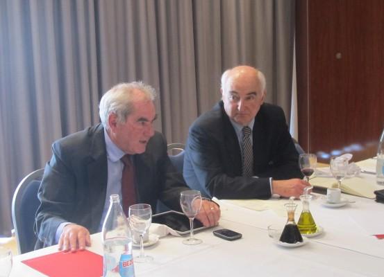Ernest Maragall i Toni Rodríguez Pujol
