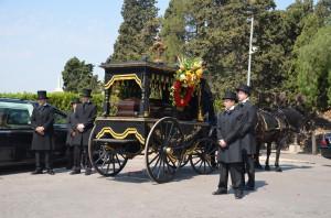 Enterrament amb carruatge