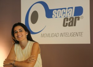 Mar Alarcón, fundadora y CEO de Social Car