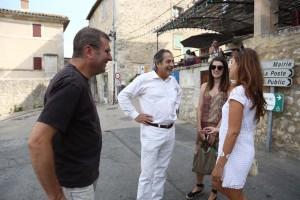 Pierre Cardin viatge Lacoste 2015: Albert Puig, Paco Poch, Aina Rodríguez i Vanessa Hoghart