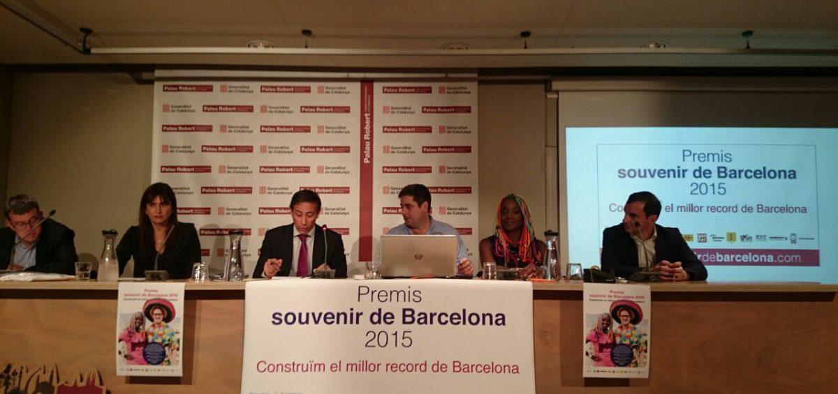Premis Souvenir de Barcelona 2015
