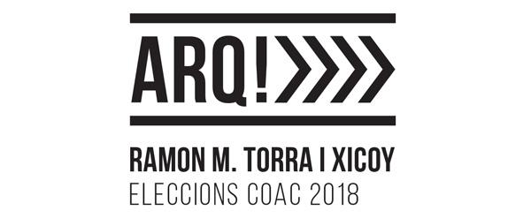 Candidatura Ramon M. Torra al deganat del COAC