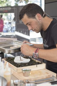 El chef Yayo Daporta